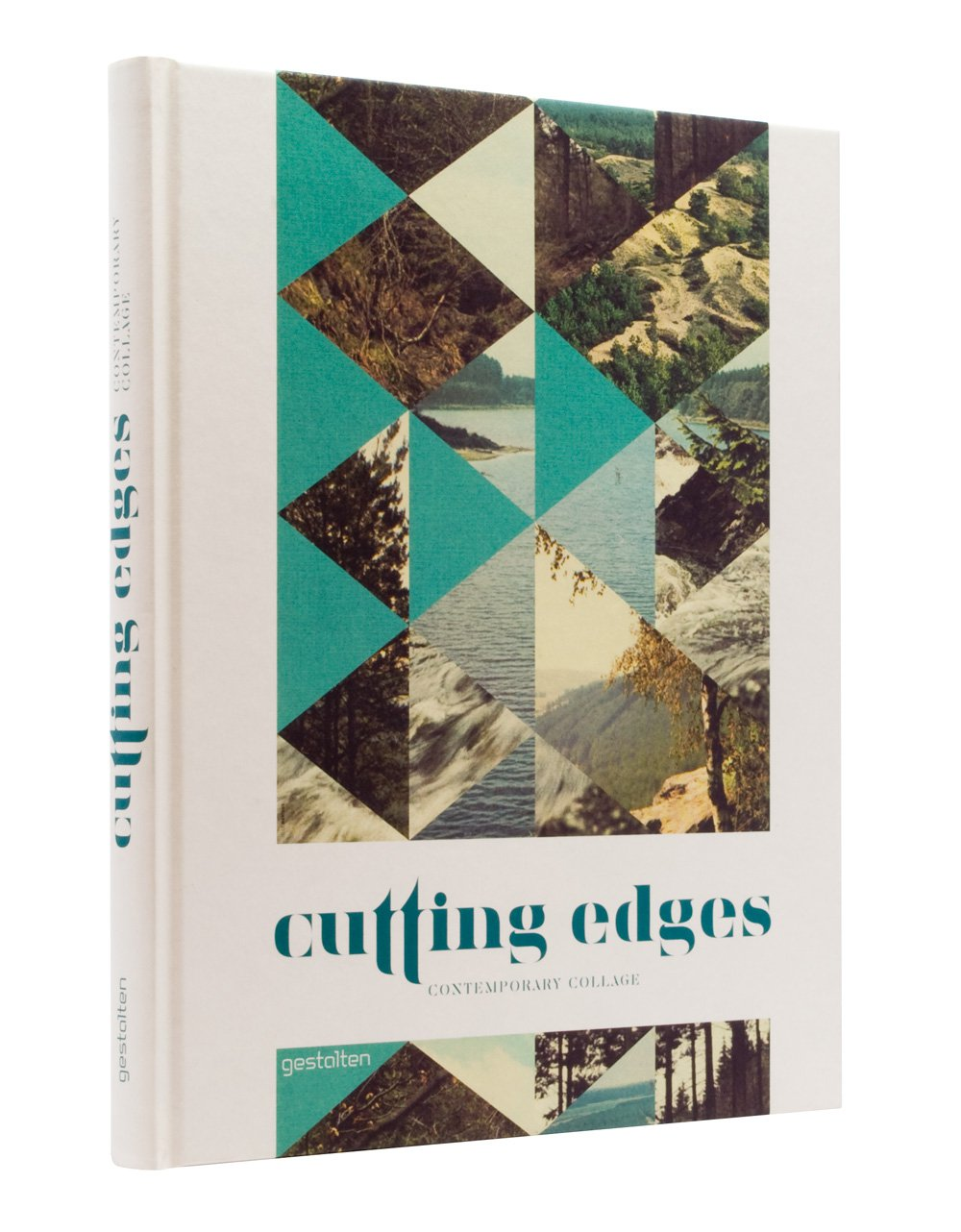 Book Cover Collage Design : Bartalos cutting edges contemporary collage